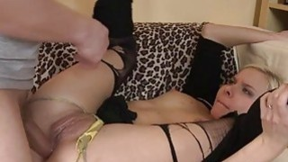 Bitch is feeling biggest dick stuffing asshole - mother and son biggest dick image