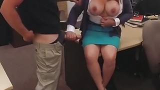 Big titted wife pawns twat to bail out her husband from_jail image