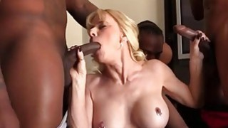 Cammille Gets Her Pussy Banged By Black Guys image