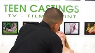 Image: Beautiful Teen fucks first time on camera