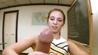 Teen Girl Calls Herself Resident Handjobber At Sc image