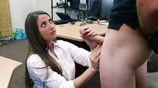 Image: Big butt babe pawns her twat and ripped