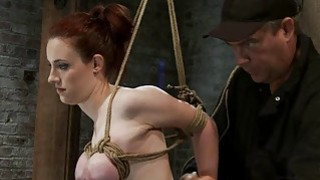 Image: Hogtied Isis Love and Iona Grace