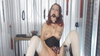 Mistress with Nipple Clamps and Ball_Gags Abuses h image