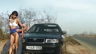 street anal fuck next_to car image