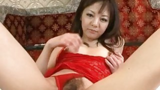Extreme solo with milf in lingerie_Hikaru Aoyama image