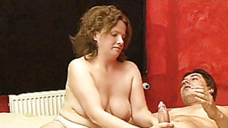 Chubby amateur housewife homemade fuck action image