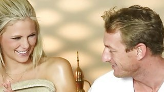 Secret voyeur movie of nasty masseur copulate customers image