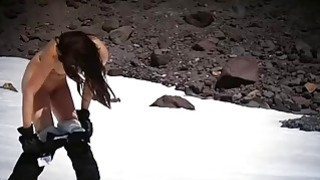 Sexy badass sluts enjoyed snowboarding and deep sea fishing image