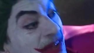 Joker fucks_2 crazy hotties in XXX_parody of Batman image