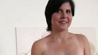 Image: Natural busty Euro student in_casting