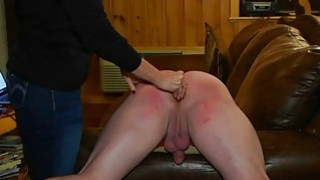 Spanked Hard with the Carpet Beater Free Porn e image
