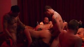 Swingers swap partners and enjoyed orgy image