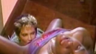 Nikki Knight & Angel Kelly  Retro Interracial Vid image