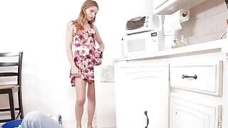 Image: Nasty girl Sydney Cole loves her pussy cumfilled