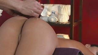 Masseur bent over and fucked masseuse image