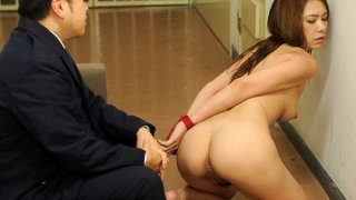 Sweet young gal_gets rammed by a prison guard image