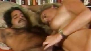 Penny Morgan and Ron Jeremy  Blonde Bimbo Porno image