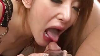 Mai Shirosaki amazes with her porn skills image