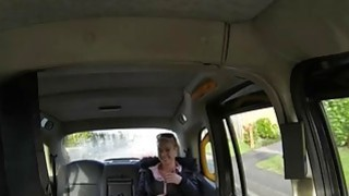 Image: Babe flashes her big tits and screwed by perverted driver