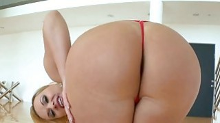 Filthy slut gets a anal fuck in doggystyle pose image