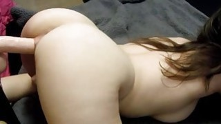 Fucked From Behind By SexToy image