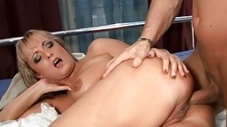 Pussy of_mature sweetheart_is roughly gangbanged image