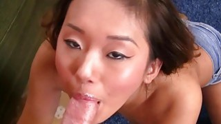 Sexy Asian Alina Li Suck Off image