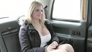Busty TV star pounded by nasty driver image