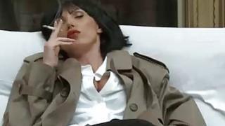 Nikki Benz riding Cock in a Pulp Fiction Parody image