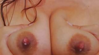 Image: Horny Mom Milks Herself And Fucks Dildo