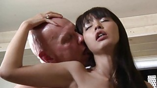 Cute Asian_Student Old Teacher Fuck Cum Swallowing image