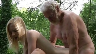 Woodcutter big old cock fucks young girls image
