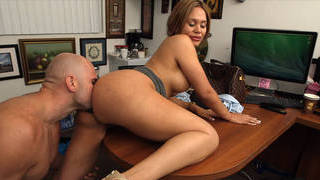 Image: Casting with horny Latina milf