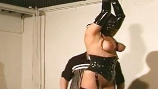 Tits Bondage Action With_Nasty Whore image