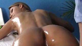 Slim hottie in rough massage fuck xxx image