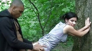Image: Peek girls first real outdoor sex
