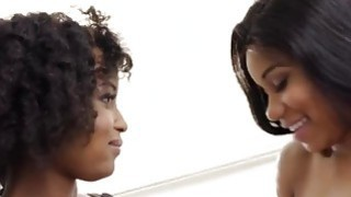 Popular ebony girls pussy while standing video - Sexy ebony girls jenna and ivy suck pussies each other image