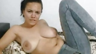 Big Tit latina Fingers pussy Under_The Jeans image
