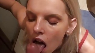 Sexy blondie tries anal sex at drunk party xxx image