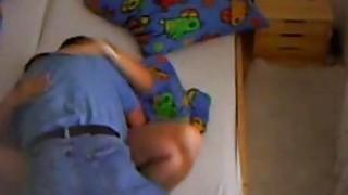 Spy video of my slutty mom with her handyman image
