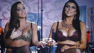A peek into the lives of pornstars Romi Rain and Abigail Mac image