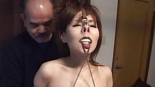 Subtitles CMNF Japanese BDSM nose hooks and more image
