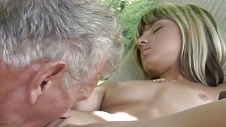 Teen Step Sister Masturbating fucks Old man image