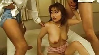 Yui needs two huge throbbing cocks to reach orgasm image