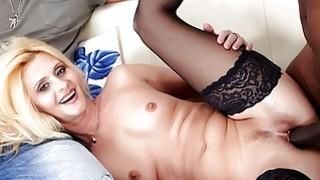Mature slut Scarlet Mika enjoys a_black dick image
