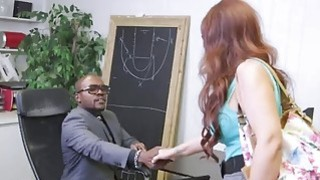 Image: Angry MILF  with big tits gets penetrated by big black dicks