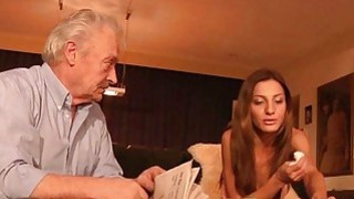 Best Alice Romain Teen anal fuck with grandpa old image