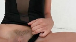 Small latina Angel del Rey_with tight pussy gets huge cock and jizz image
