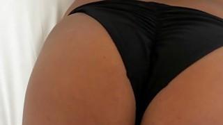 Pierced nipples GF in knee high socks ass banged on camera image